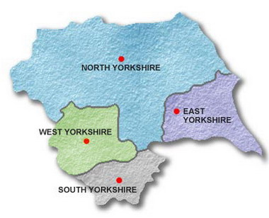 Covering the whole of Yorkshire